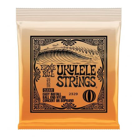 Ernie Ball Concert/Soprano Ukulele Ball End Strings Set